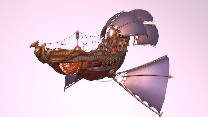 Kania Ship Skin Aurora 3D Model