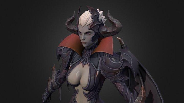 Vampire 3D Model