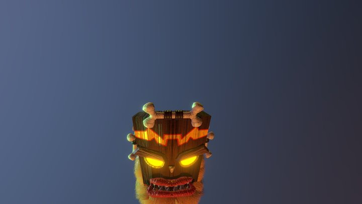 Uka Uka - Animated 3D Model