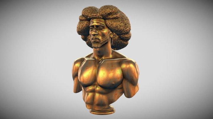 Colin Kaepernick, Civil Rights Activist, Athlete 3D Model
