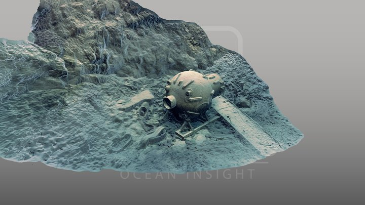 Diving Bell 3D Model