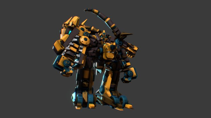 Chimera Maximus ! 3D Model
