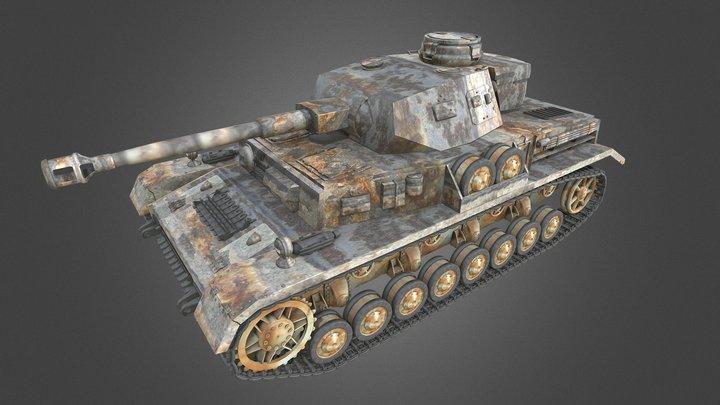 3D Tank 3D Model