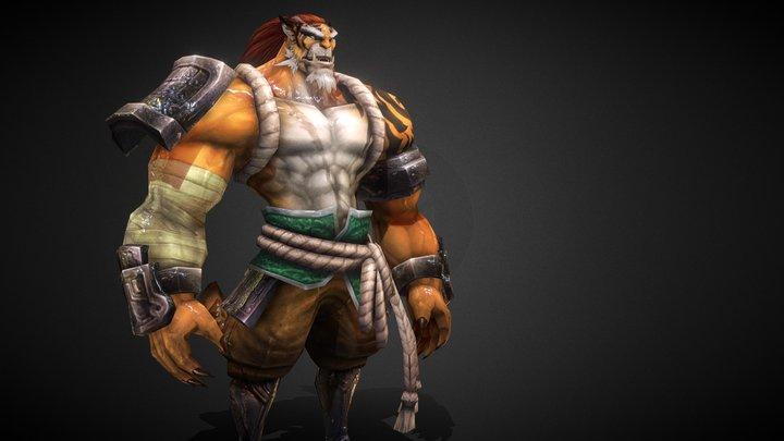 虎妖BOSS 3D Model