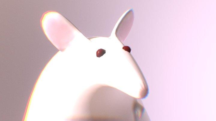 Cursed Rat 3D Model