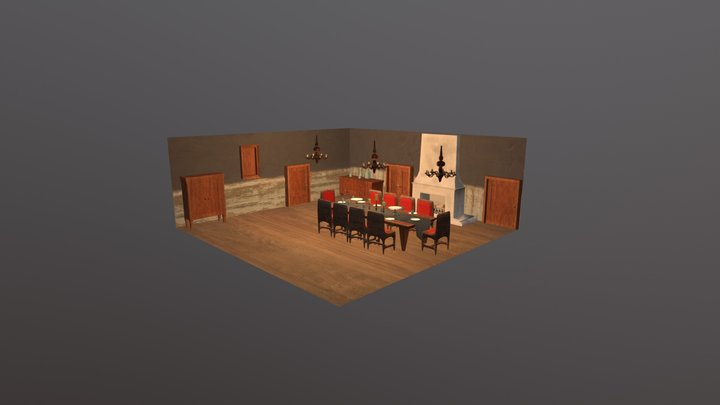 Gastic Ghouls Scene 3D Model