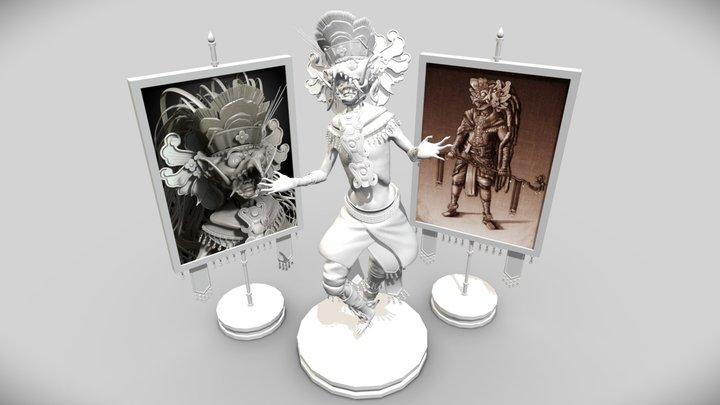 Topusa Shaman Sculpt 3D Model