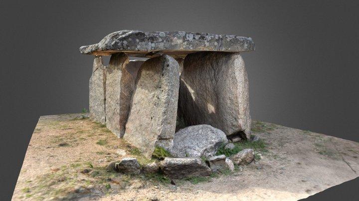 Dolmen de Fontanaccia 3D Model