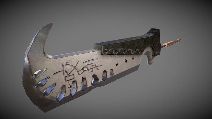 GAP Exam - Monster Hunter Greatsword 3D Model