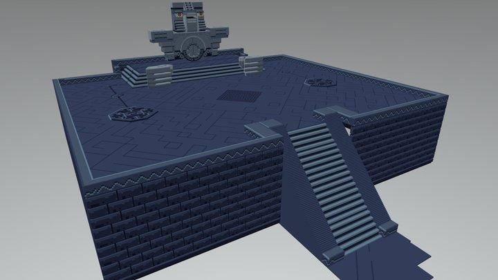 Voxel Souls 3D Model