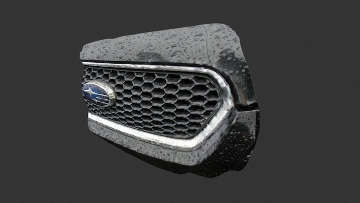 Subaru Radiator 3D Model
