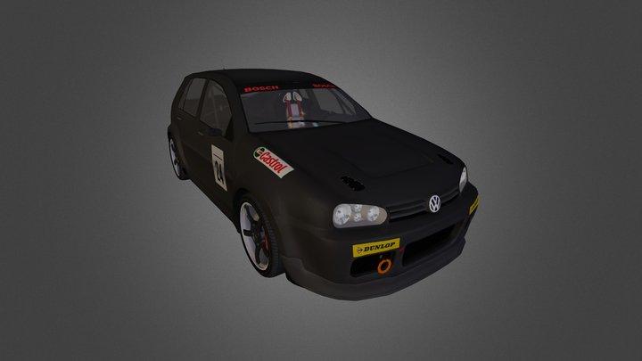 Volkswagen Golf 4 RM'01 3D Model