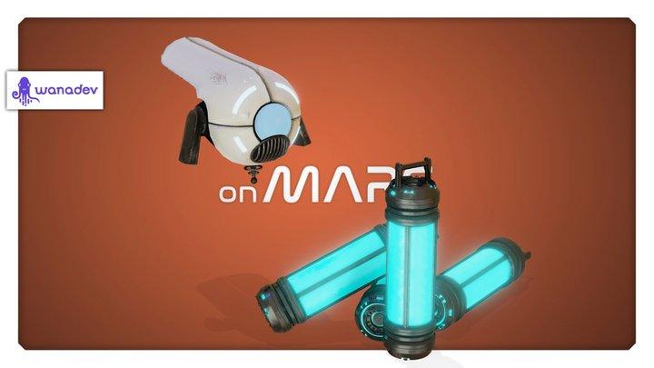 On Mars - FX-01 3D Model