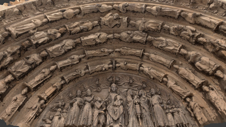 Church of Our Lady in Trier-Germany 3D Model
