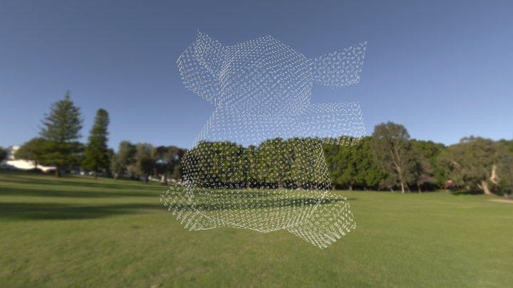 Spiral bear (Shenton Park), 2020 3D Model