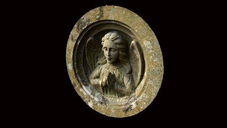Praying Angel 3D Model
