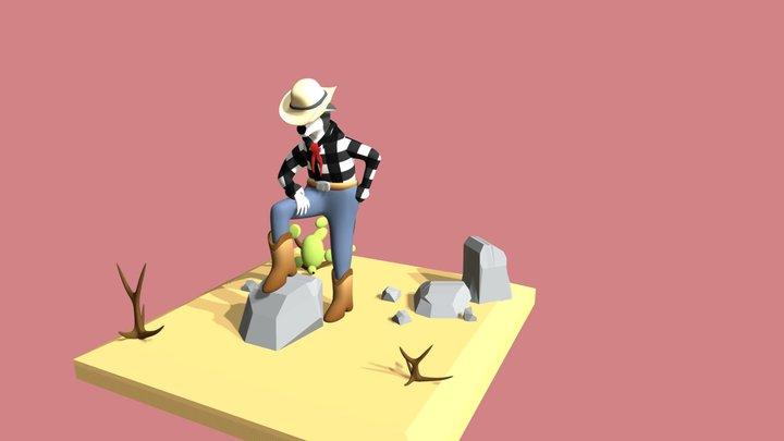 Vonzent Cowboy 3D Model