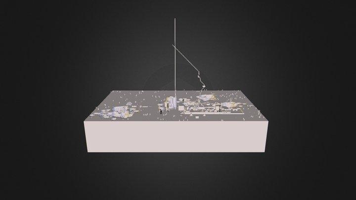 Thirst- Town 3d Map 3D Model
