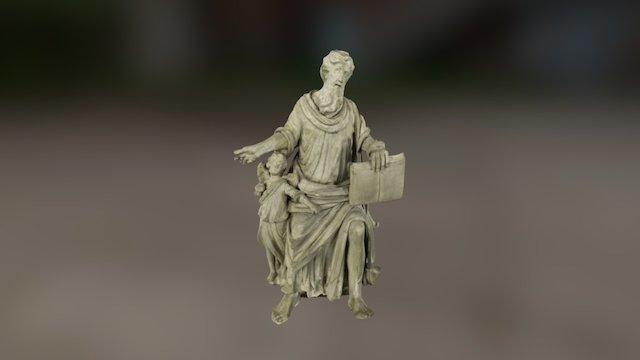 Püha Matteus 3D Model