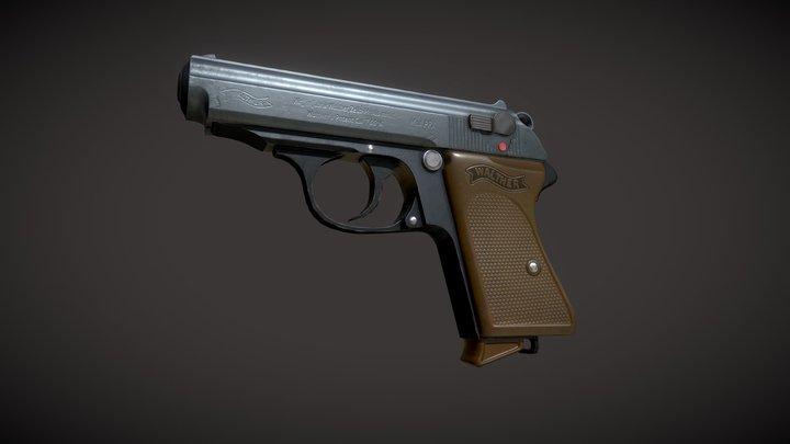 1939 Walter PPK 3D Model