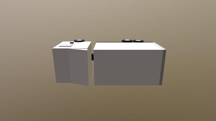 Truck FInal 3D Model