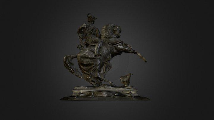 3D Scan Reiterstatue 3D Model