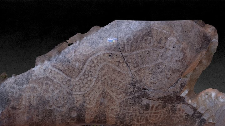 Petroglyph Boulder, Los Boliches