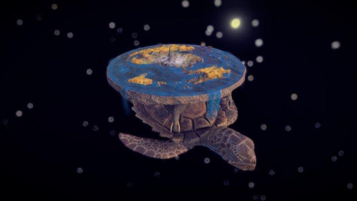 Discworld 3D Model