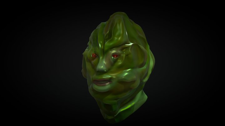 The thing from the swamp 3D Model