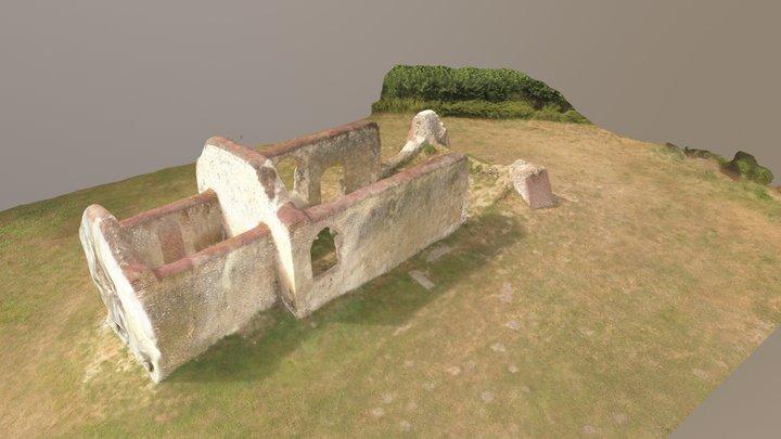 Old Church of St James, Bix Brand 3D Model