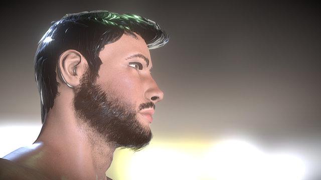Tony 3D Model