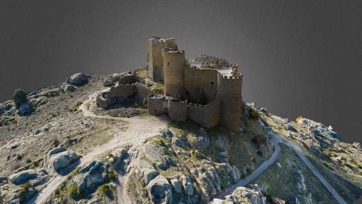 Aunqueospese Castle, Avila, Spain 3D Model
