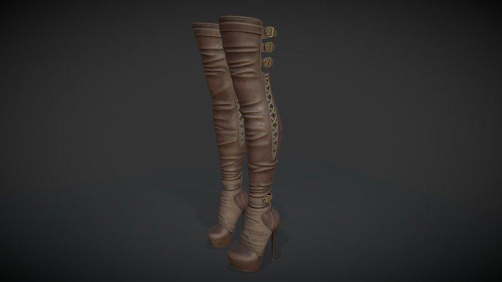 High Boots 3D Model