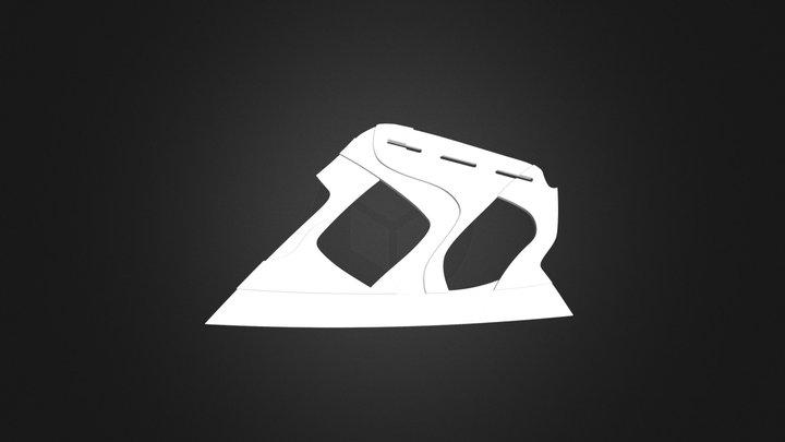 Final 3D Printed Shoe: Side part 3D Model