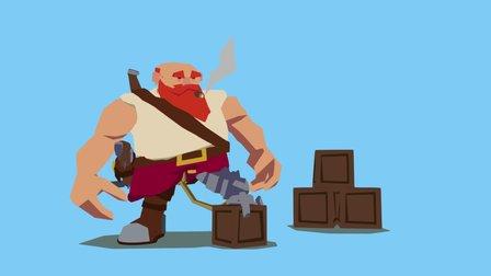 Dwarf Solo 3D Model