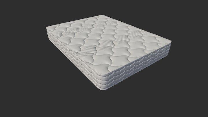 Mattress4 3D Model