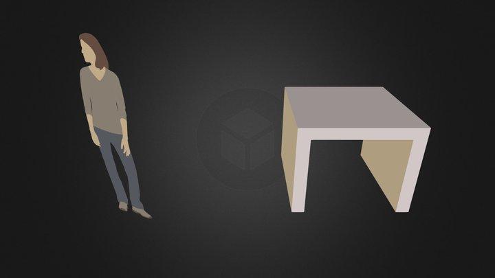 01王國安 3D Model