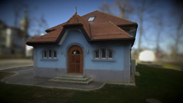 Blue House, Switzerland (new upload) 3D Model