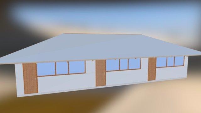 Haiti School 3D Model