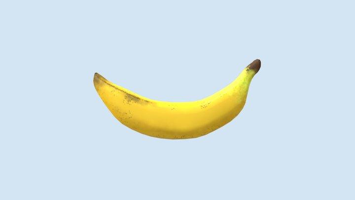 Assessment 2- Intro to Organic Modelling- Banana 3D Model