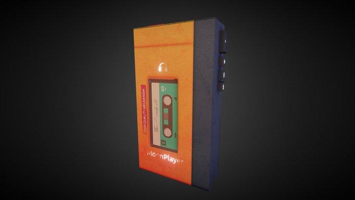 Heartrending Days - Casette player 3D Model