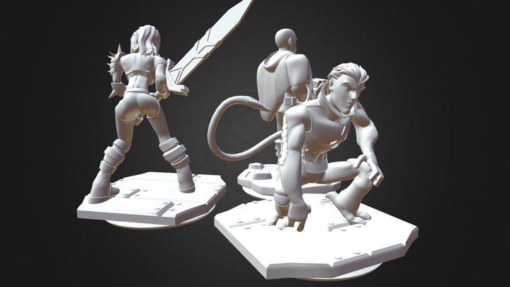 Disney Infinity Prints 04 3D Model