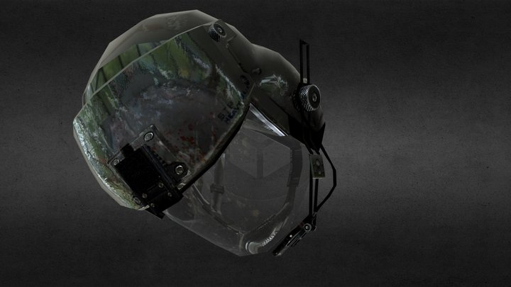 Juggernaut Helmet 3D Model