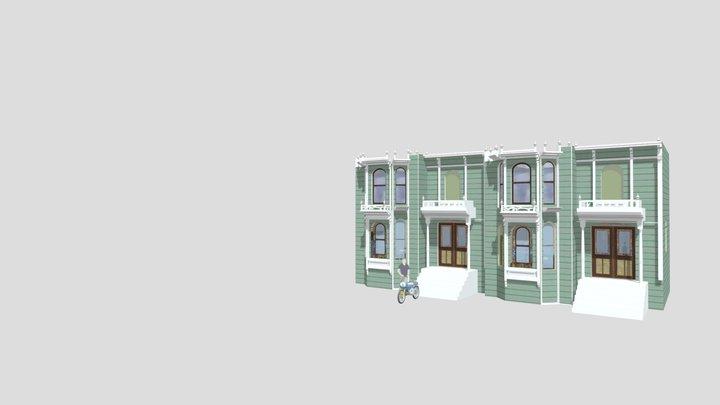 SF_VICTORIAN_SCENE_GROUPED 3D Model