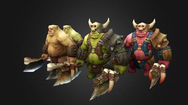 Ork@total 3D Model