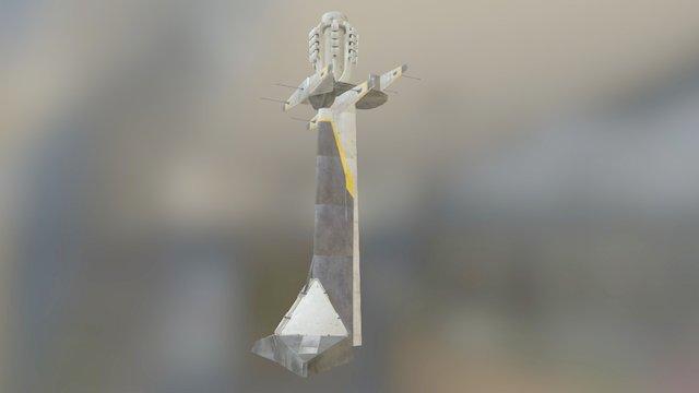 Pylon 01 3D Model