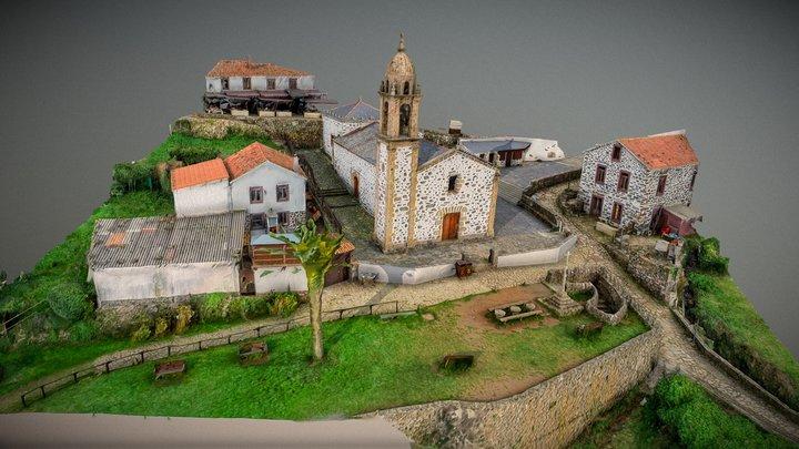 San Andrés de Teixido (Cedeira) 3D Model