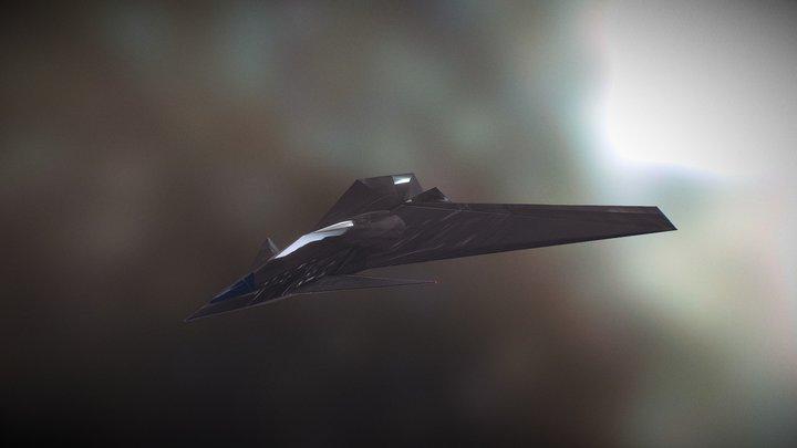 Gravity Sketch Spaceship 3D Model