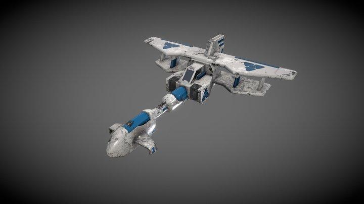 Space Ship N06 3D Model