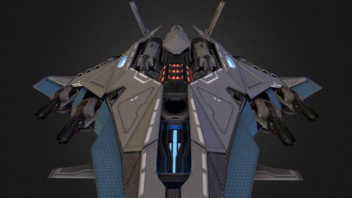 "TRM ""Machete"" 3D Model"